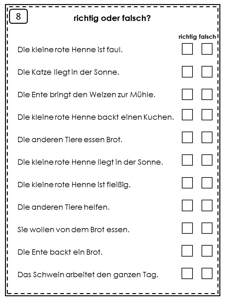 German Easy Reader Die kleine rote Henne | Germany | Pinterest ...