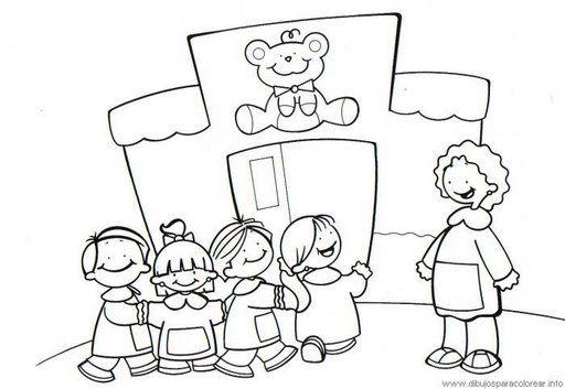 Dibujos infantiles de colegio   Imagui | DIBUJADOS MONOS