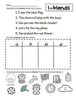 Peterson's Pad | First grade phonics, Blends activities ...