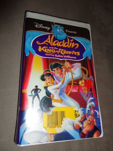 Disney Aladdin And The King Of Thieves Vhs Movie Find Me At Www