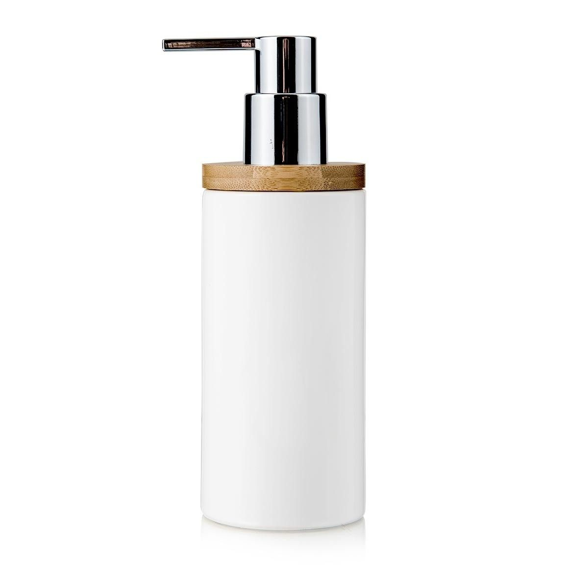 Ceramic Wood Soap Dispenser
