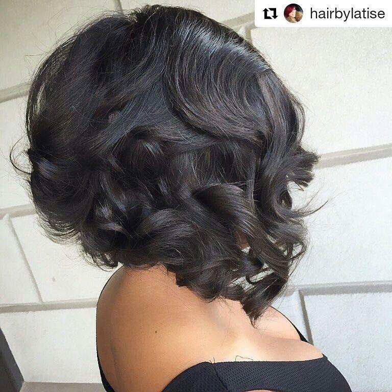 Style From Hairbylatise Of Atlanta Georgia Repost Hairbylatise Hairbylatise Atlhairstylist Hai Bob Hairstyles Bob Wedding Hairstyles Bobs Haircuts