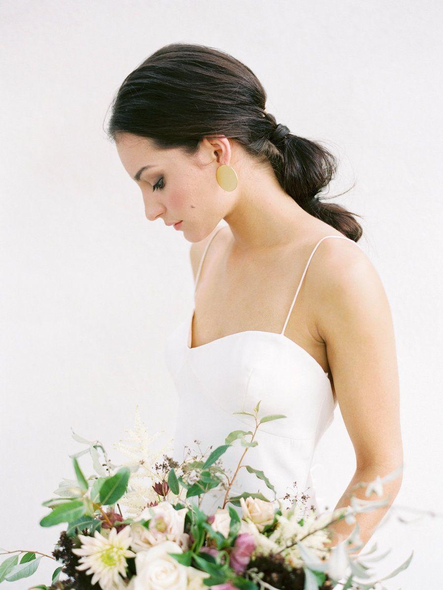 Modern and Minimalist Wedding Bonnie Sen