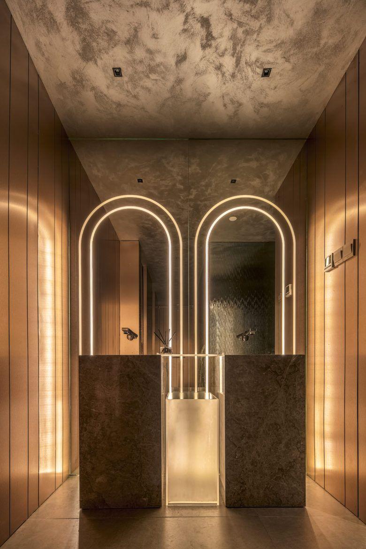 Oasi Bistro Washroom Design Restaurant Bathroom Restroom Design