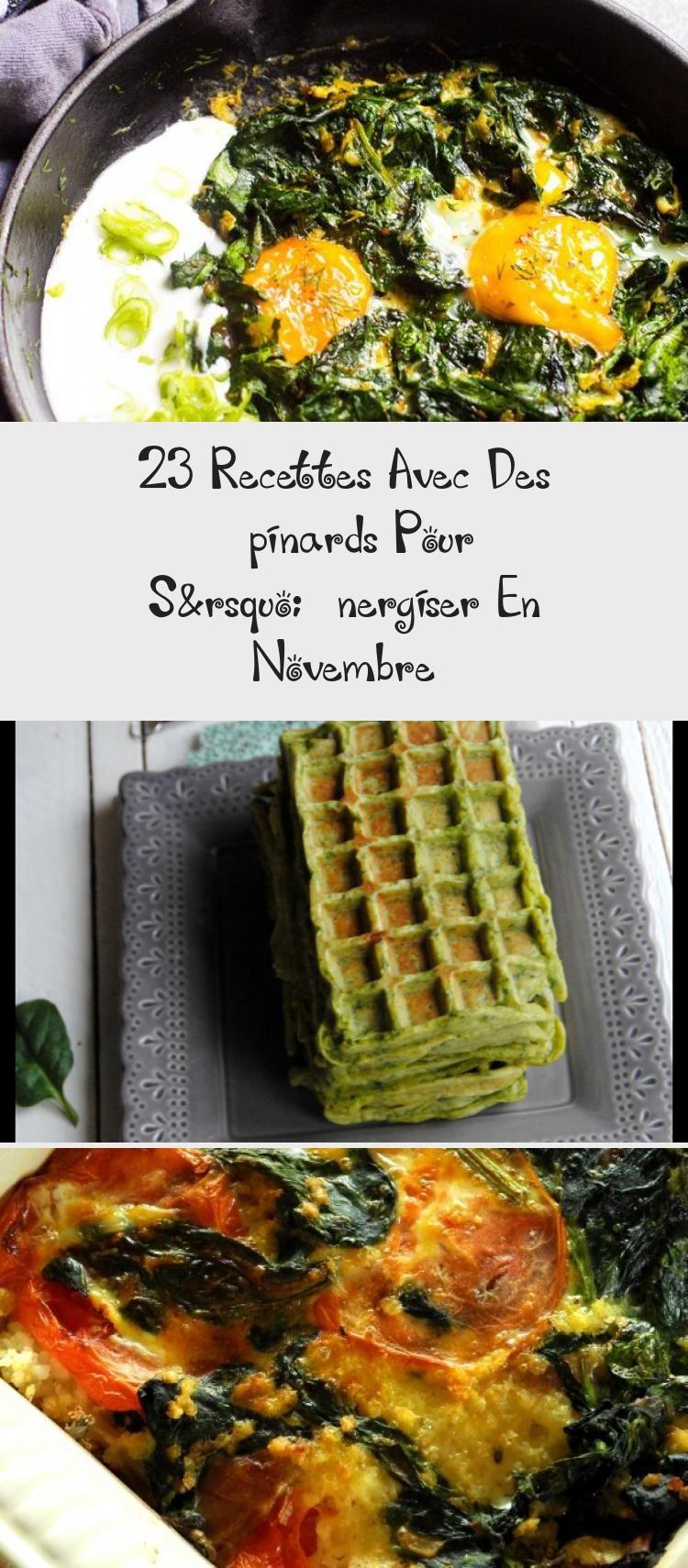 23 Recettes Avec Des épinards Pour S'énergiser En Novembre