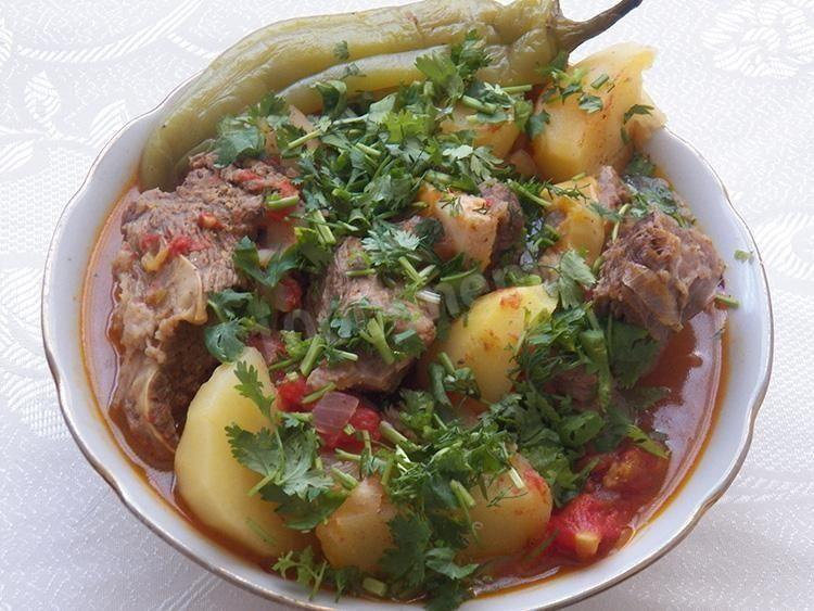 Хашлама из говядины с картофелем | Рецепт | Новые рецепты ...