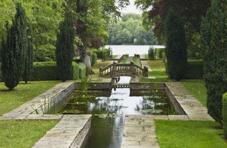 Image Details National Trust Images Water Garden Lawn And Garden Beautiful Gardens