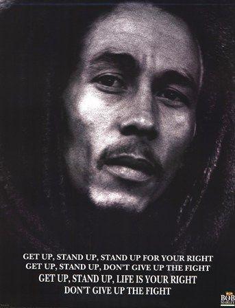 Bob Marley Get Up Stand Up Bob Marley Lyrics Bob Marley Pictures Bob Marley Poster