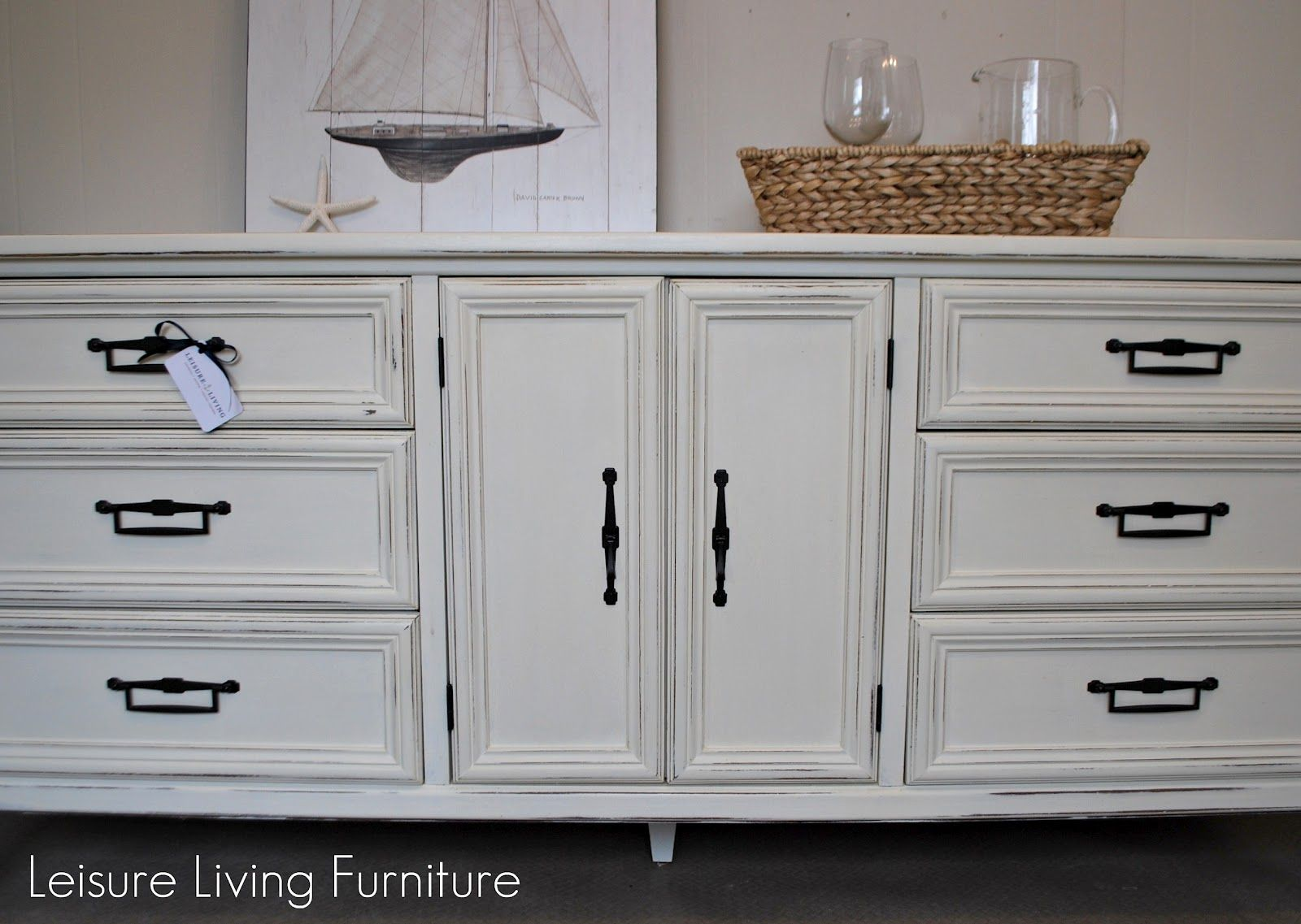 White Buffet Cabinet | Here It Is Now.... Ready To Go Home