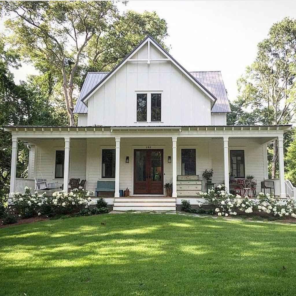 90 modern american farmhouse exterior landscaping design on beautiful modern farmhouse trending exterior design ideas id=12659