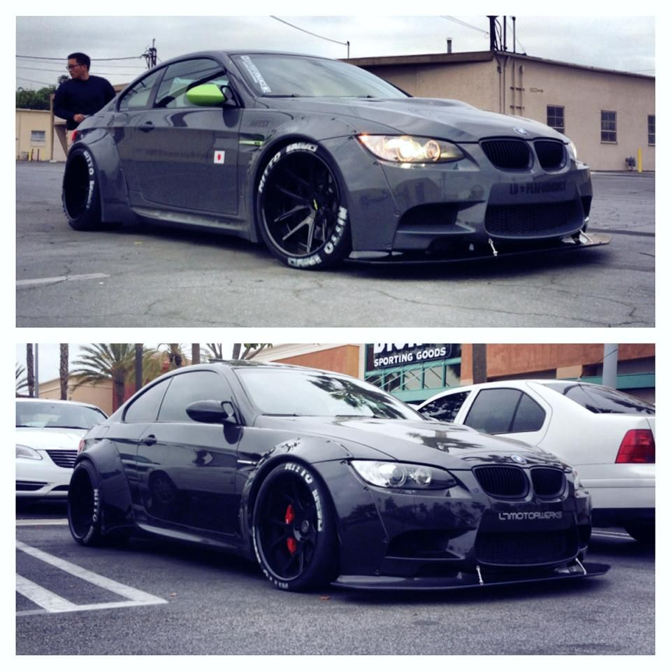 new widebody bmw e92 m3s are out of control at ltmw photo gallery