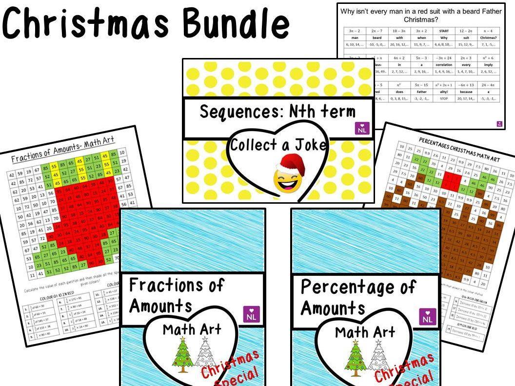 Christmas Bundle | Christmas math, Teaching resources and Math