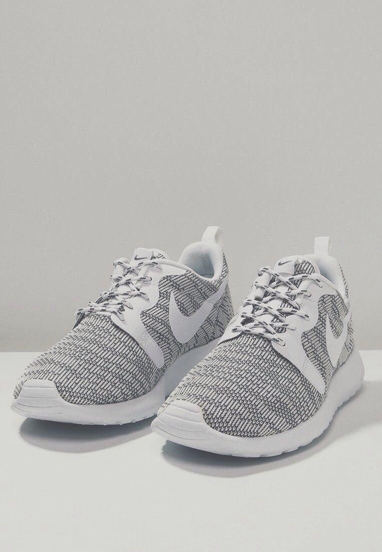 Nike Roshe Courir Audrey Noir Et Blanc