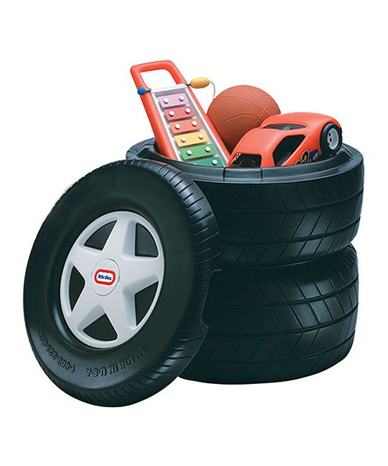 Classic Racing Tire Toy Chest Car Themed Bedrooms Kids Bedroom