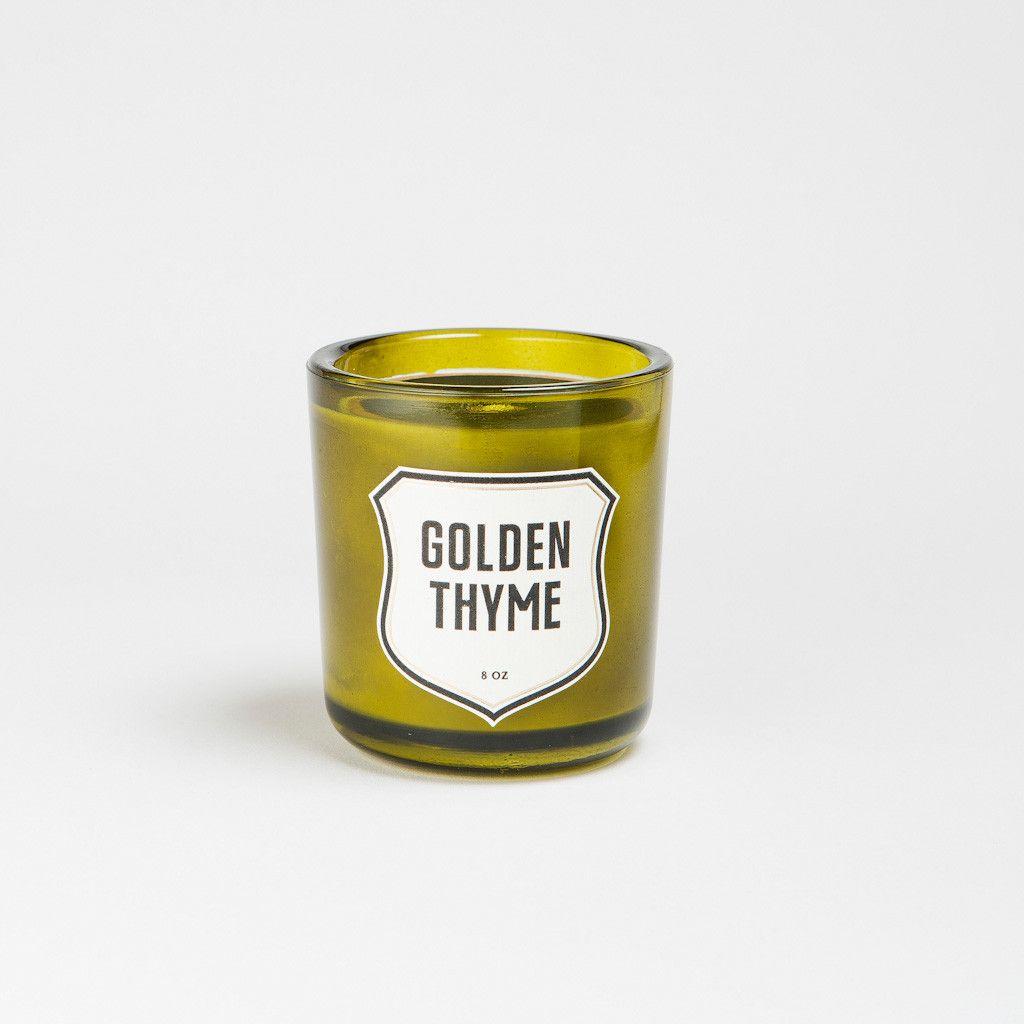 Kerze - Izola Thymian oder Rosmarin erhältlich bei soulgasoline.ch