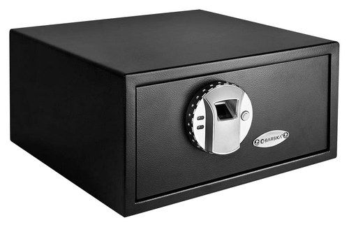 Barska - Biometric Safe with Fingerprint Lock - Black ...