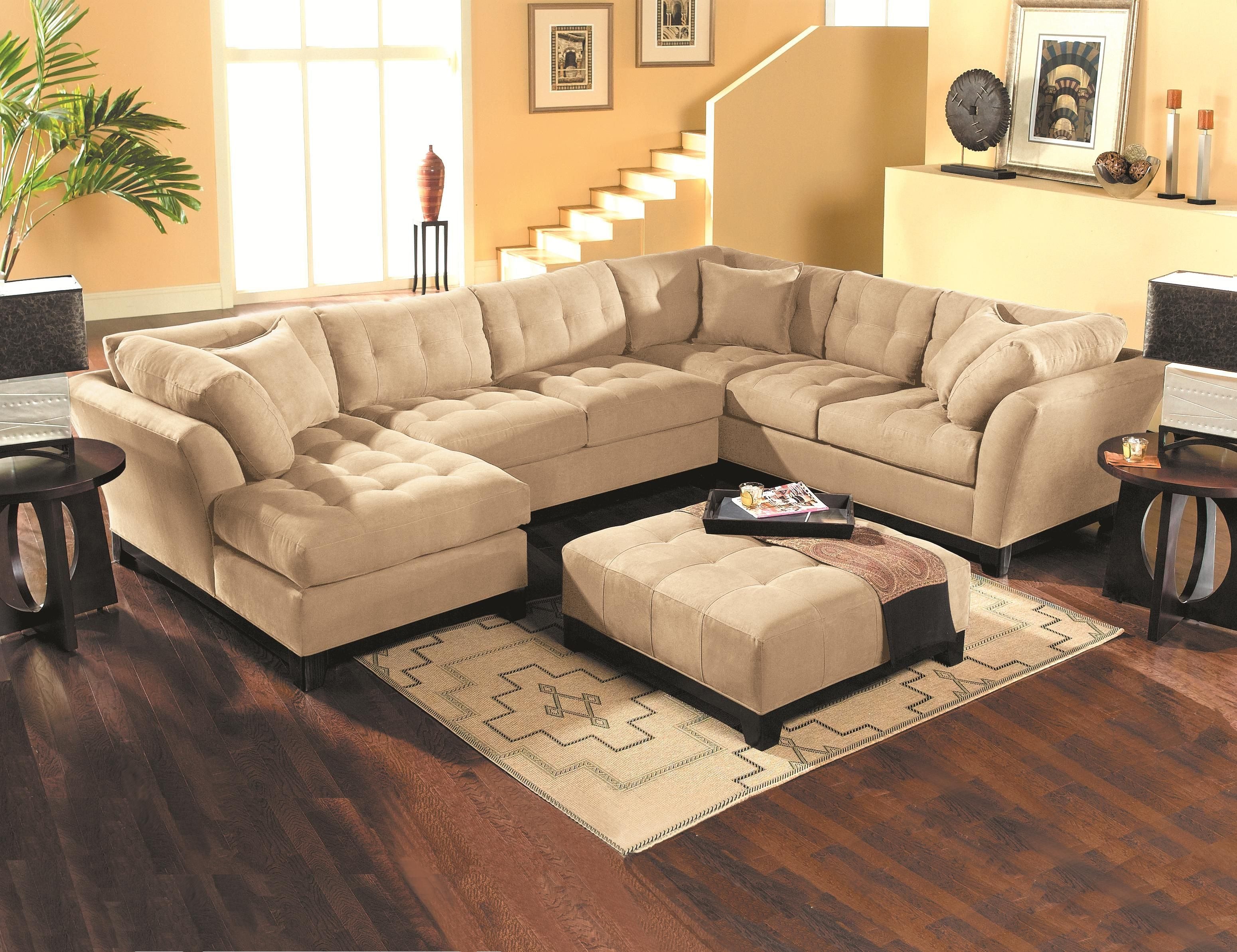 Metropolis Contemporary Sectional Sofa By HM Richards