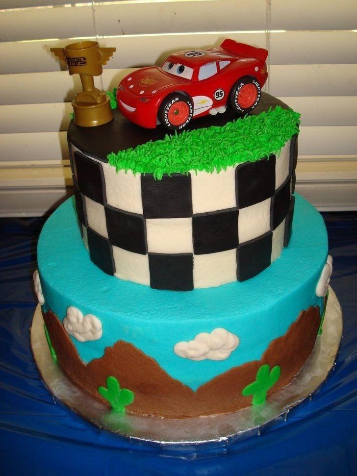 23+ Immagine brillante della torta di compleanno di Saetta Mcqueen download di immagini di bella to