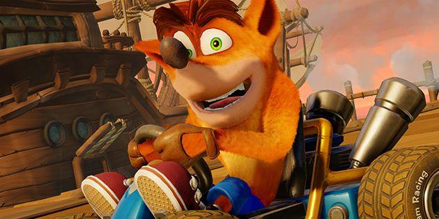 Crash Team Racing Nitro-Fueled: Dragon Mines und Retro Stadium im Video näher vorgestellt