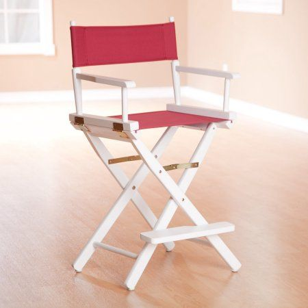 Remarkable 24 Inch Directors Chair Honey Oak Frame Burgundy Canvas Cjindustries Chair Design For Home Cjindustriesco
