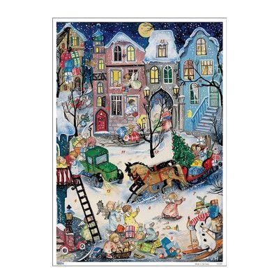 Alexander Taron Korsch Angels With Gifts Advent Calendar Set Of 2 German Advent Calendar Christmas Advent Calendar Christmas Art