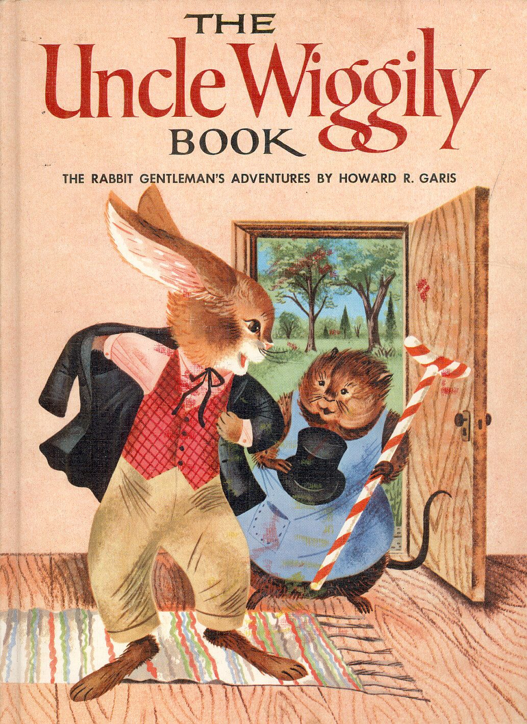 The Uncle Wiggily Book The Rabbit Gentleman's Adventures By Howard R  Garis, Illustrated By