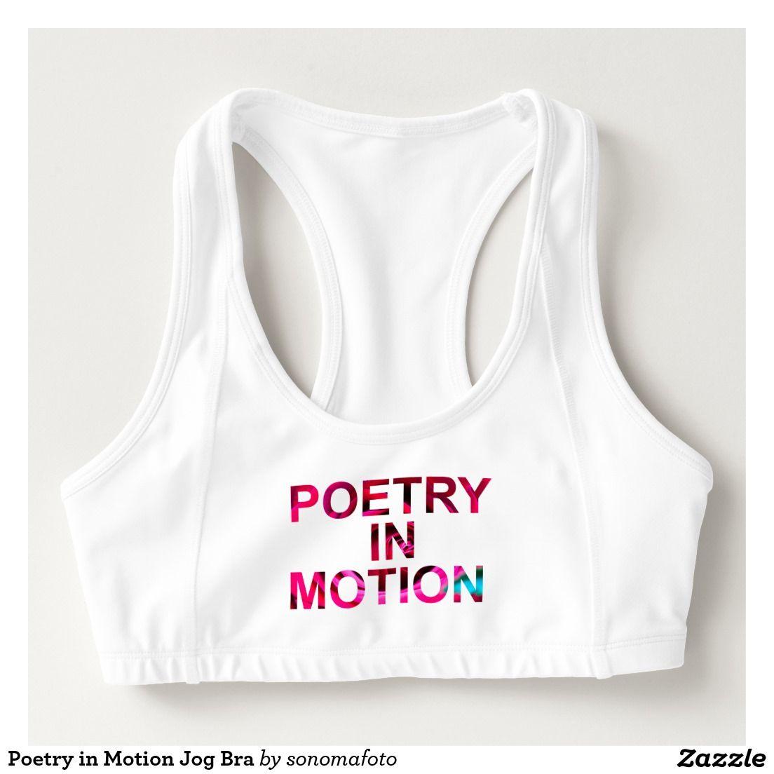 Poetry in Motion Jog Bra Sports Bra