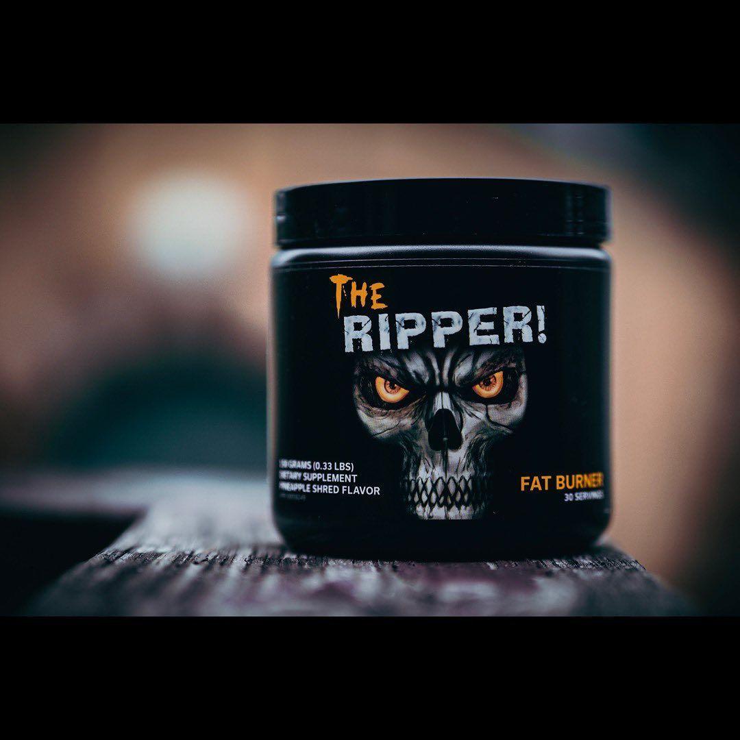 . THE RIPPER . 減量してた時の秘密兵器。 パッケージ怪しすぎだけどサプリメント(笑) . . 食事管理と併...