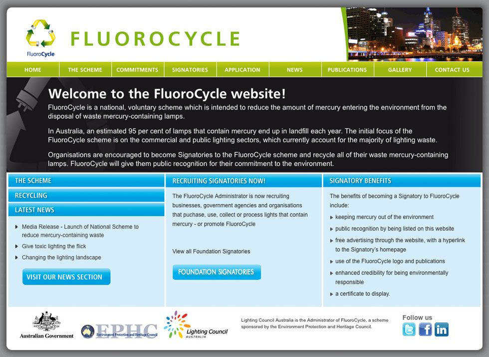 2B Advertising & Design - Flurocycle Website
