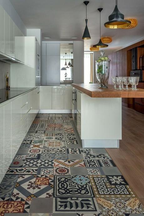 Rinnovare il pavimento di casa? Ecco le Cementine | Cucine, Cucina e ...