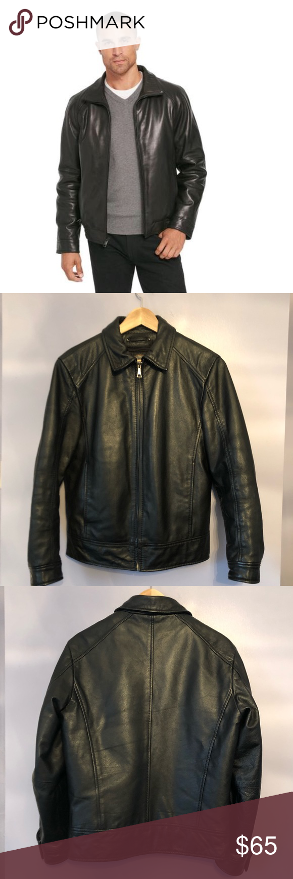 Wilsons leather bomber jacket with thinsulate Wilson's
