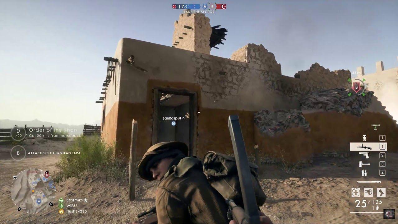 Battlefield 1 Pc Multiplayer Gameplay In 2021 Battlefield 1 Battlefield Gameplay