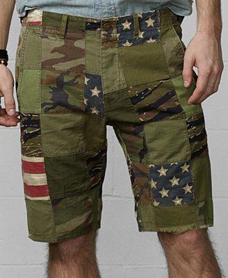 894b5c259 Denim   Supply Ralph Lauren Patchwork Chino Shorts