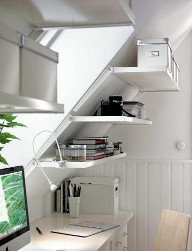 Räume mit Dachschrägen - die besten Wohntipps Stauraum hinter - kleiderschrank schiebeturen stauraumwunder