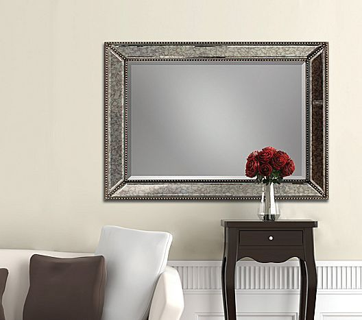 Beaded Antique Mirror Jcpenney Mirror Home Decor