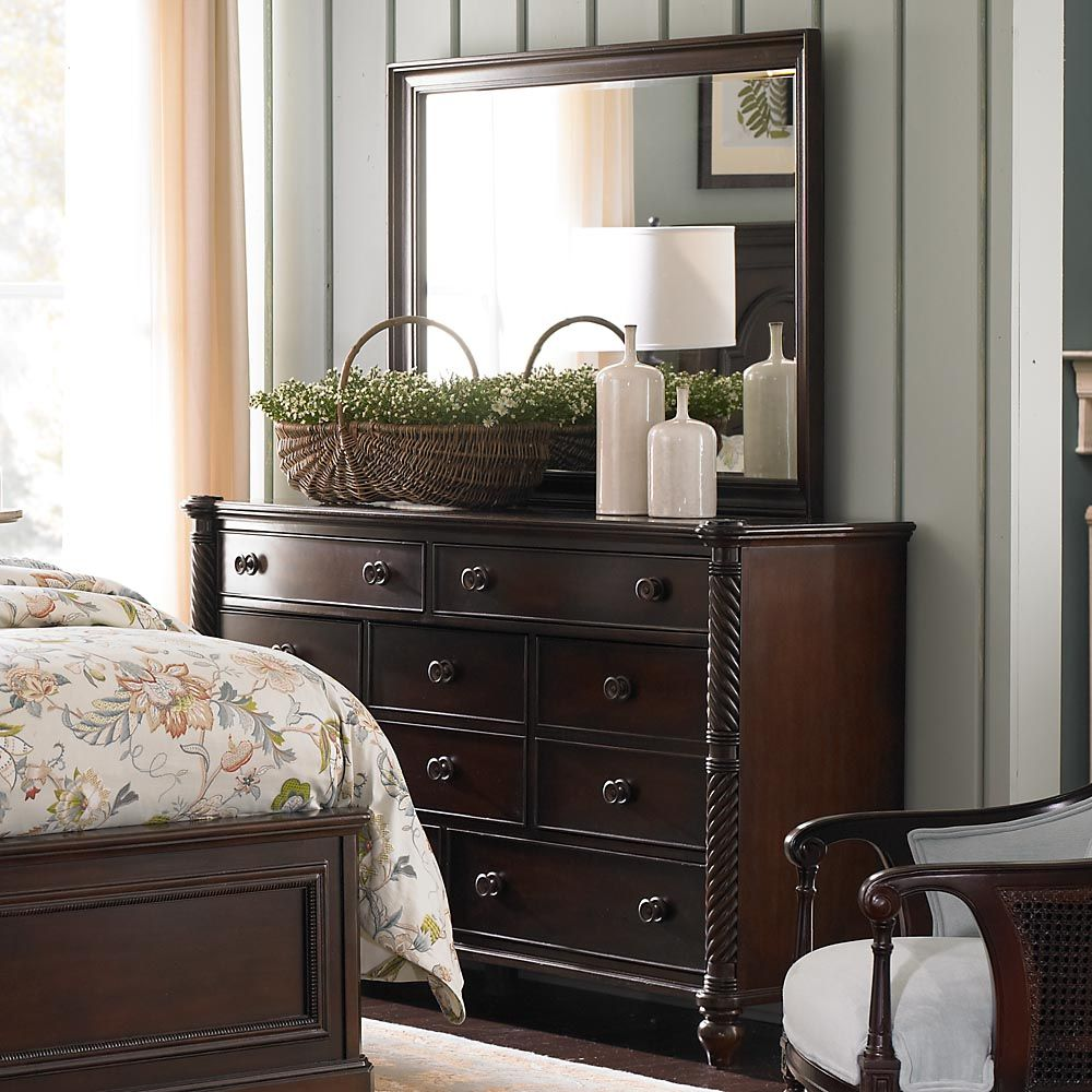 Moultrie Park Bow Front Dresser By Bassett Furniture