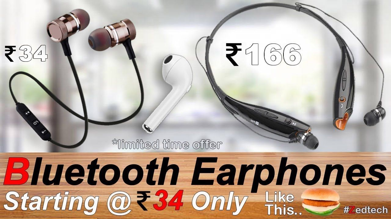 Best Sports Bluetooth Earbuds 2018 Rs 34 Only Apple Earpods Low Price In India Wireless Airpods Best Sports Bluetooth Earbuds Bluetooth Earbuds Fun Sports