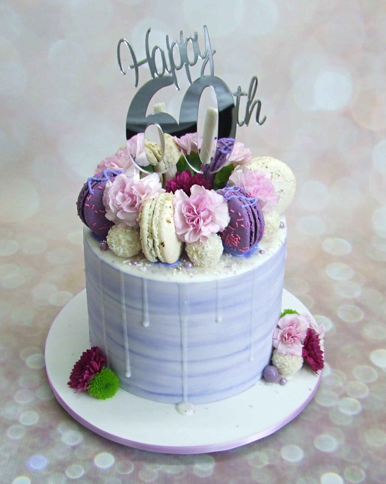 How To Make A Drip Cake To Wow The Party Drip Cakes 60th
