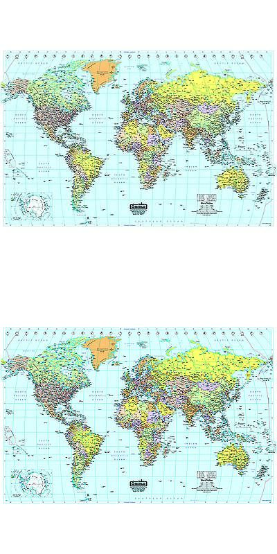 Globes and maps 102952 large laminated world map buy it now globes and maps 102952 large laminated world map buy it now only gumiabroncs Choice Image