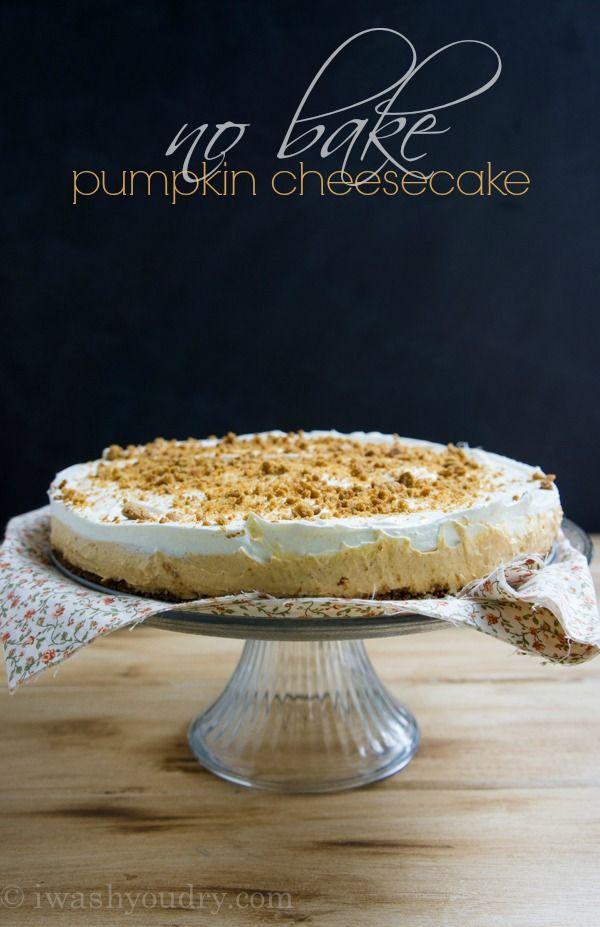 No Bake Pumpkin Cheesecake Recipe No Bake Pumpkin