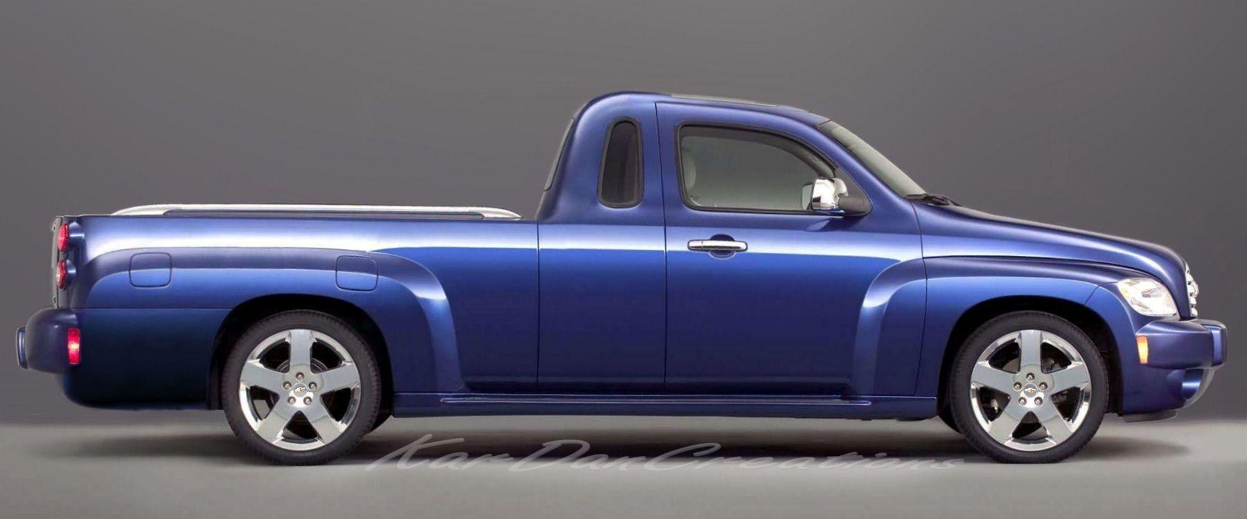 2006 Chevrolet Hhr Pickup Concept Cool Trucks Trucks Flower Car