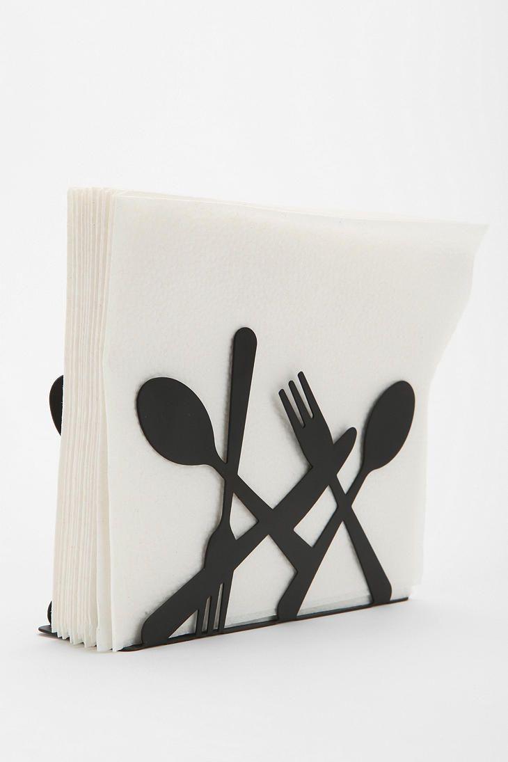 utensils napkin napkin holder