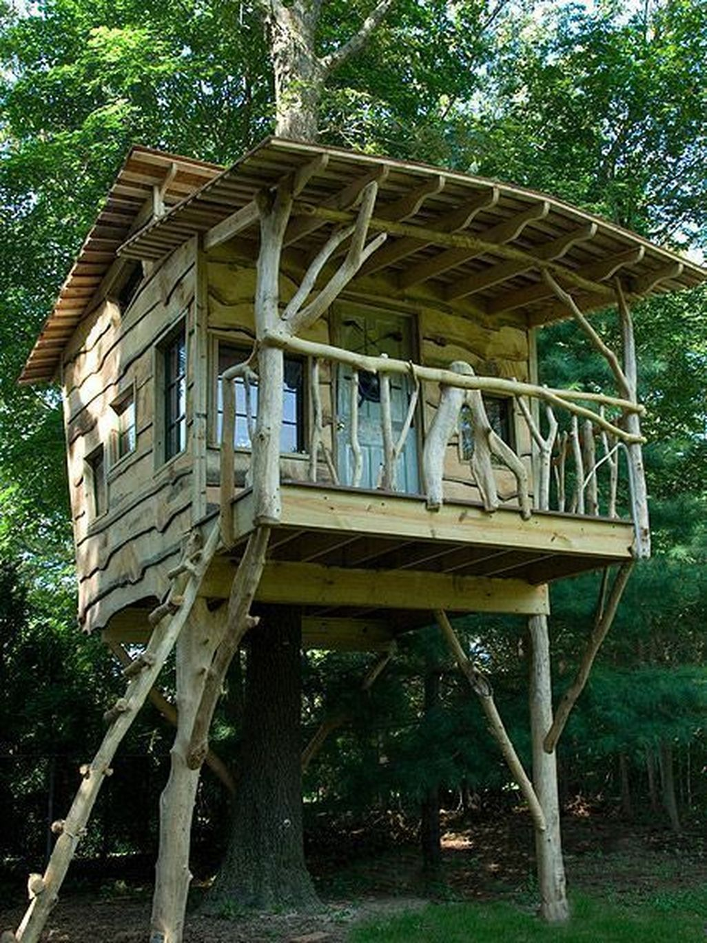 Awesome 46 Awesome Treehouse Masters Design Ideas Will ...
