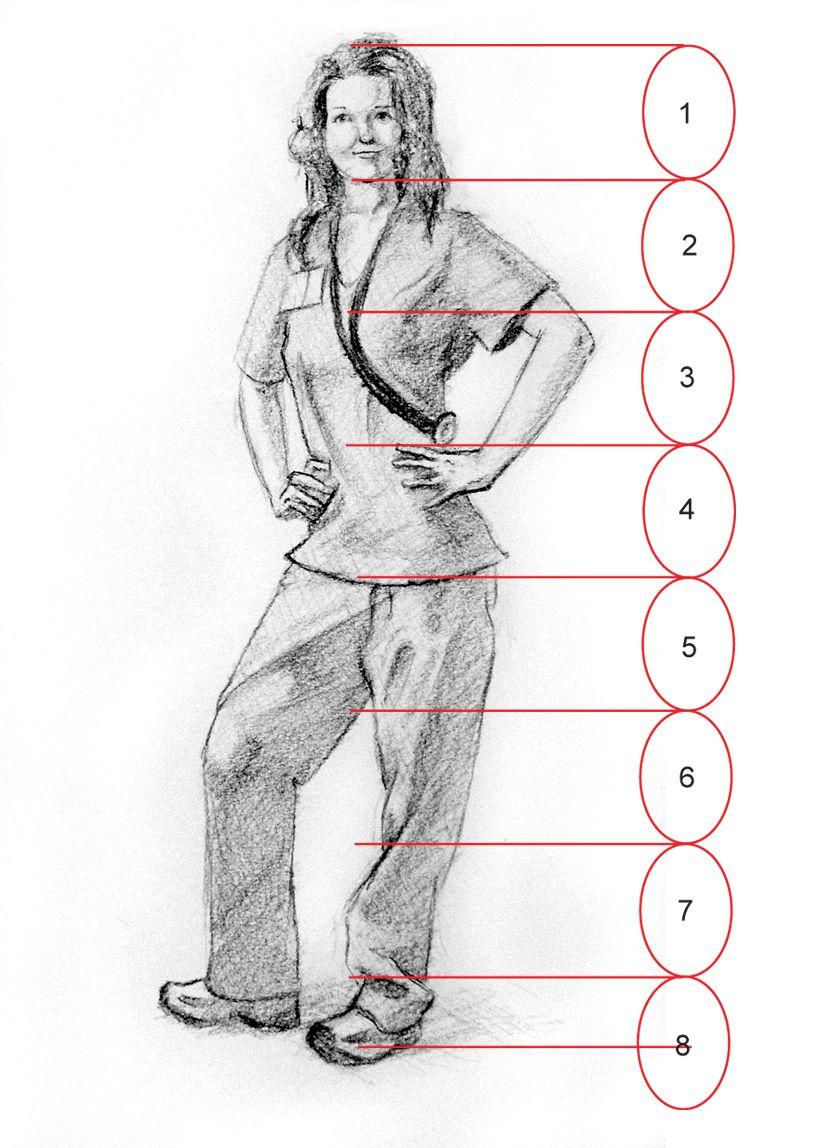 Figure Of Human Body | Mensen tekenen