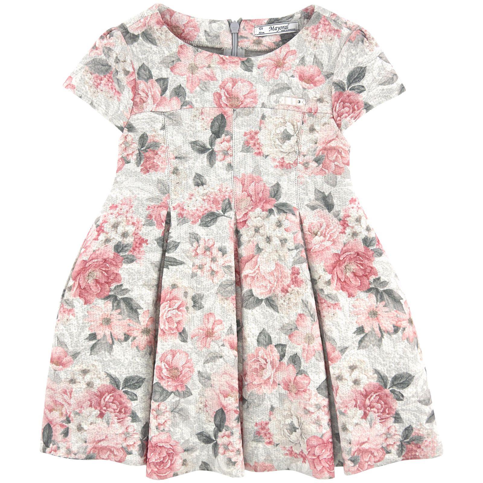 Printed dress chic pinterest box pleats and kids girls