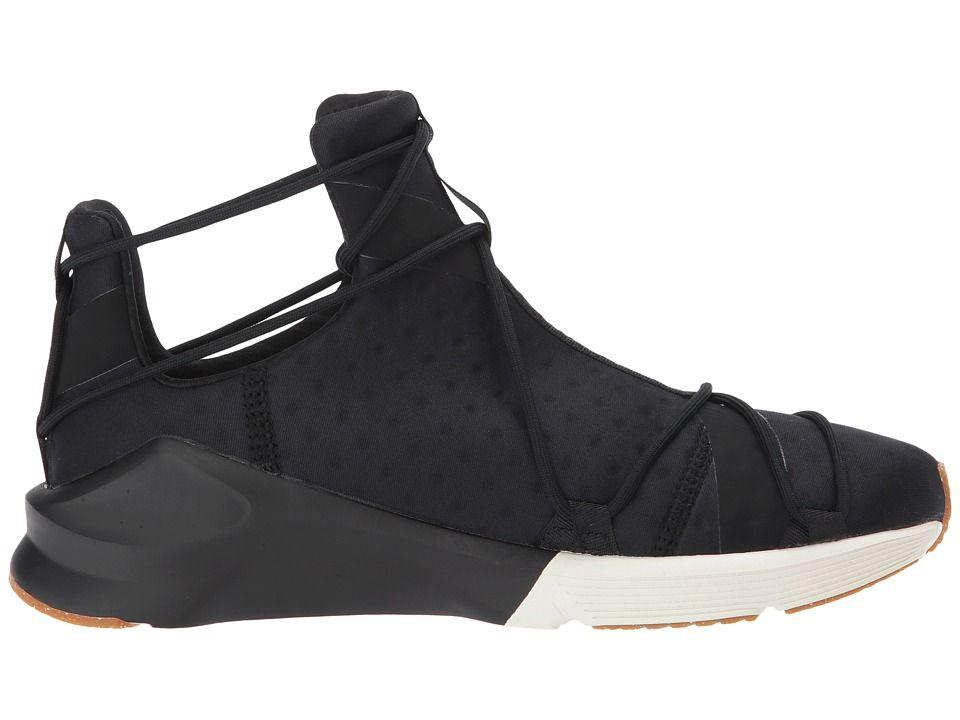Sneaker Schuhe Hohe VR Rope Damen Puma women Fierce schwarz