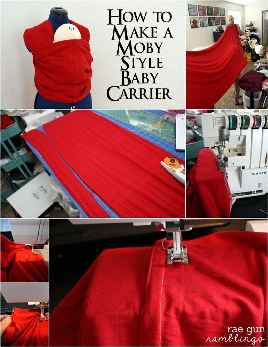 How To Make A Moby Wrap Baby Carrier S E W I N G P R O J E C T S