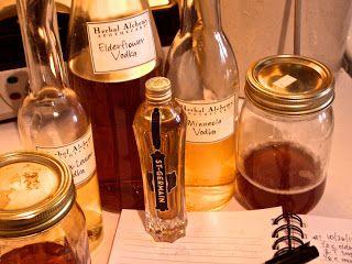 alchemologie: Elderflower Liqueur