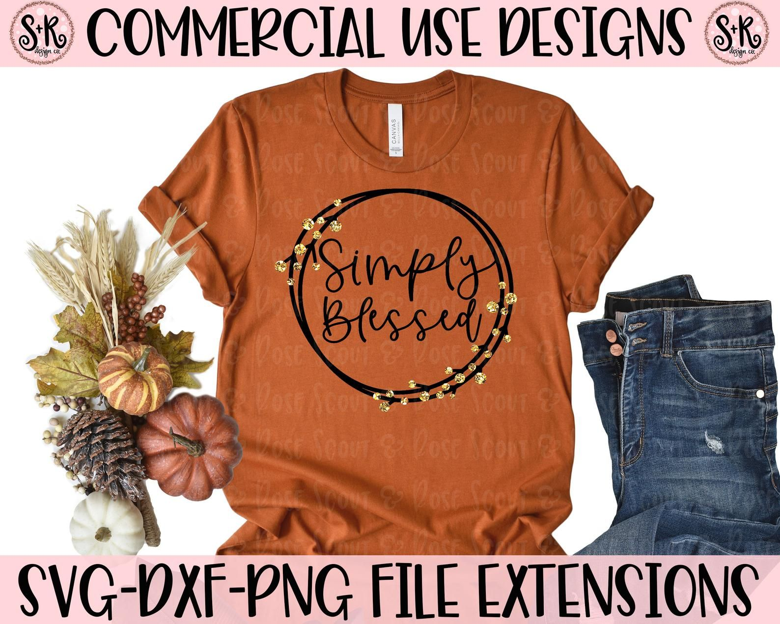 Fall svg, blessed svg, autumn svg, fall vibes svg,