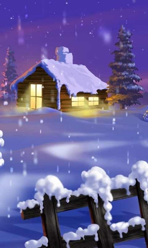 Silent Winter Iphone Wallpaper Winter Wallpaper Iphone Christmas Winter Backgrounds Iphone Christmas winter night wallpaper iphone